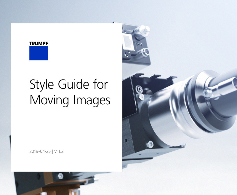 Style Guide for Moving Images